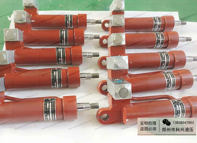 郑州科兴液压根据客户要求量身订做油缸