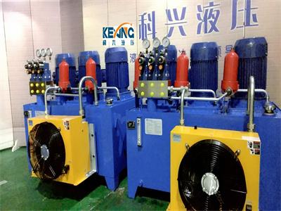 铁路机械液压泵站