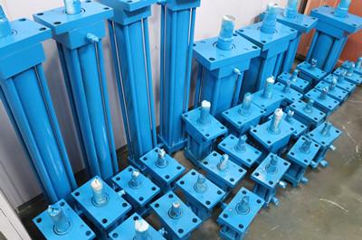 机床传动系统液压油缸
