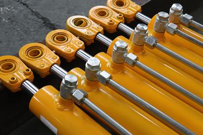 自卸式机械液压油缸