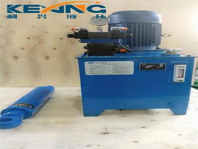 河床升降机械液压泵站