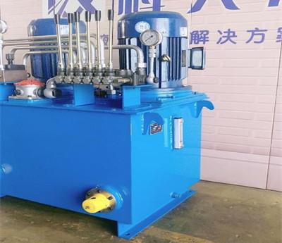 石油钻采机械液压泵站